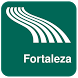 Fortaleza Map offline by iniCall.com