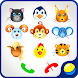 Kids baby phone with animals by GoKids!