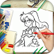 How to Draw Sailor Moon by Eagle Art