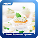 Sweet Avocado Cupcakes by Tapis Dev
