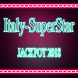 Italy SuperStar jackpot-Vip: winning jackpot s7v1