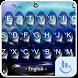 Live 3D Blue Water Keyboard Theme by Fashion Cute Emoji