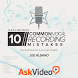 Vocal Recording Mistakes Tut. by AskVideo.com