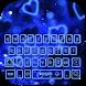 Blue hearts fairyland keyboard