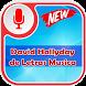Musica de David Hallyday