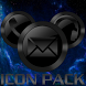ICON PACK DARK METAL THEME by Tak Team Studio