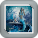 Mermaid under the sea GIF Live Wallpaper