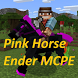 Pink Horse Ender - Big Map And Skins, MCPE Mod add by ITcompansolo