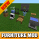 Furniture mods for MCPE by Mopltegahet Komabute