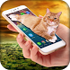 Cat Walks in Phone Joke: Cute Animation by Apps Cottage