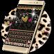 Luxury leopard Keyboard Theme by hot keyboard themes