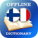Finnish-French Dictionary by AllDict