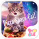 Funny Theme-Pizza Space Cat!- by +HOME by Ateam