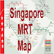 Singapore Offline MRT map by jibs