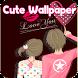 วอลเปเปอร์ Cute Wallpaper Love by norasi soft
