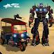 Tuk Tuk Robot Transformation by Cloud Games Studio 3D