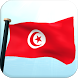 Tunisia Flag 3D Free Wallpaper by I Like My Country - Flag