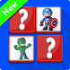 Puzzle Marvel Memory Toys by Donggona