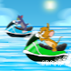 jetski jerry race and cat by fouryears