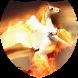 Fiery pegasus Live Wallpaper by Firamo