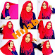 New Hijab Tutorial by junjundroid