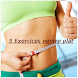 5 Exercices ventre plat by BeDeveloper
