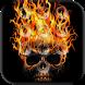 Skull Pin Lock Screen by appsfreelocker