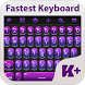 Fastest Keyboard Theme by creativekeyboards