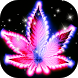 Purple Neon Rasta Weed Theme by Theme Creative Center