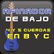 Afinador Para Bajo 4y5 Cuerdas by dos72