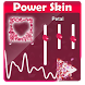 Petal Poweramp Skin by Skin for com.maxmpz.audioplayer.skin
