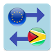 Euro x Guyanese Dollar by Currency Converter X Apps