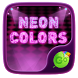 Neon Colors GO Keyboard Theme by GOMO Dev Team