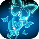 Neon Butterfly Live Wallpaper by Thalia Ultimate Photo Editing