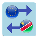 Euro x Namibia Dollar by Currency Converter X Apps