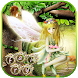 Fairy Girl Flower theme Keyboard