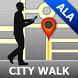 Almaty Map and Walks by GPSmyCity.com, Inc.