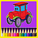 Cars Coloring Book by ToyWithToys