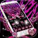 Pink Love Leopard Zebra print by Leotheme MT Studio