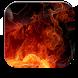 Rising Fire HD Live Wallpaper