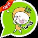 Orange Man Emoticons -Thailand by KAWAII