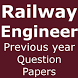 Previous Year Question Papers - Railway Engineer by OM ASHISH KUMAR