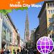 Ulm Street Map by Dubbele.com