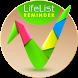 Lifelist список вещей в дорогу by Selfcognize