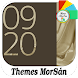 Golden - X : Xperia Theme by Themes MorSán