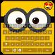 Keyboard Minion Emoji by Golden Themes Studio