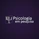 Psicologia em Pesquisa by Zeppelini Editorial
