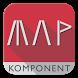 Kustomised Map Komponent -KLWP by jonaseymour