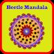 Mandala Coloring Book Bettle by Karoshio Technologies
