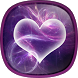 Purple Hearts Live Wallpaper by Phoenix Live Wallpapers